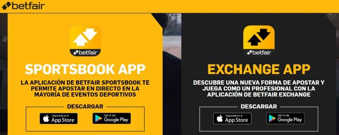 Beneficios de la Betfair App.