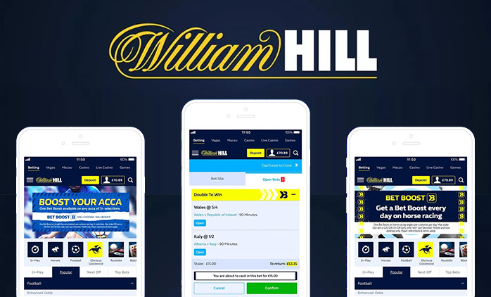 Como descargar William Hill APK.